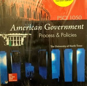 PSCI 1050 American Government: Process & Policies